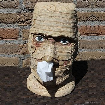 Mummy Tissue box Holder
