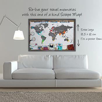Scrape Map World Edition Deluxe
