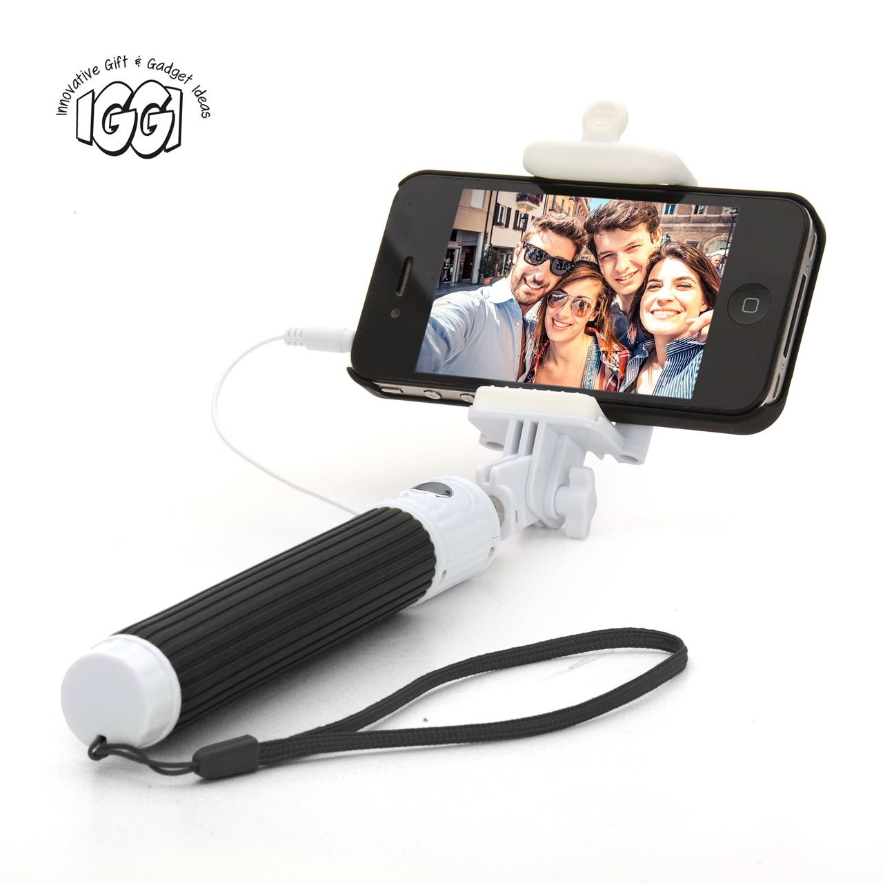 channeldistribution iggi pocket selfie stick. Black Bedroom Furniture Sets. Home Design Ideas