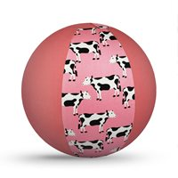 Pink Moos balloon