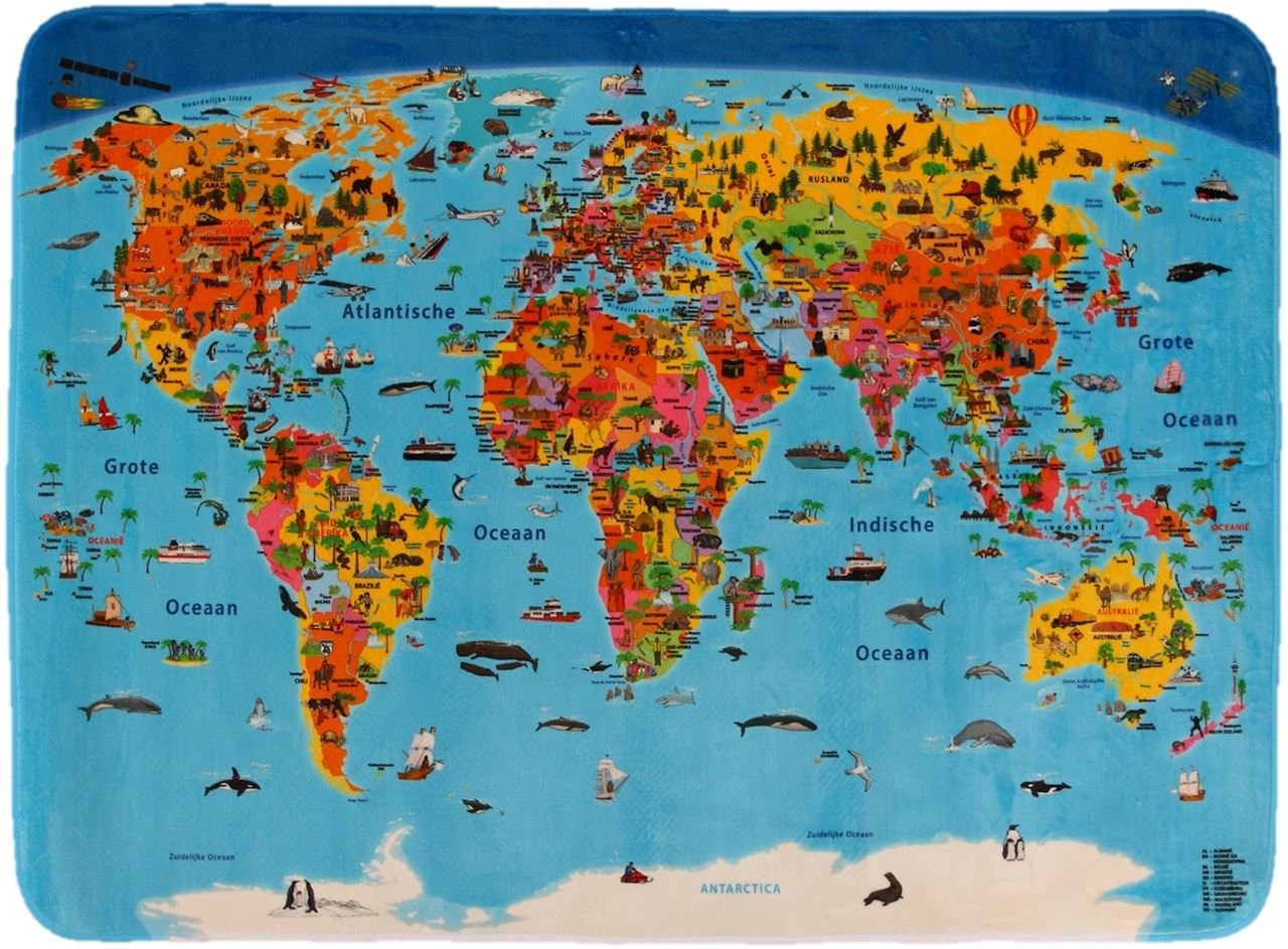Channel distribution gifts en gadgets childrens carpet worldmap childrens carpet worldmap dutch gumiabroncs Choice Image