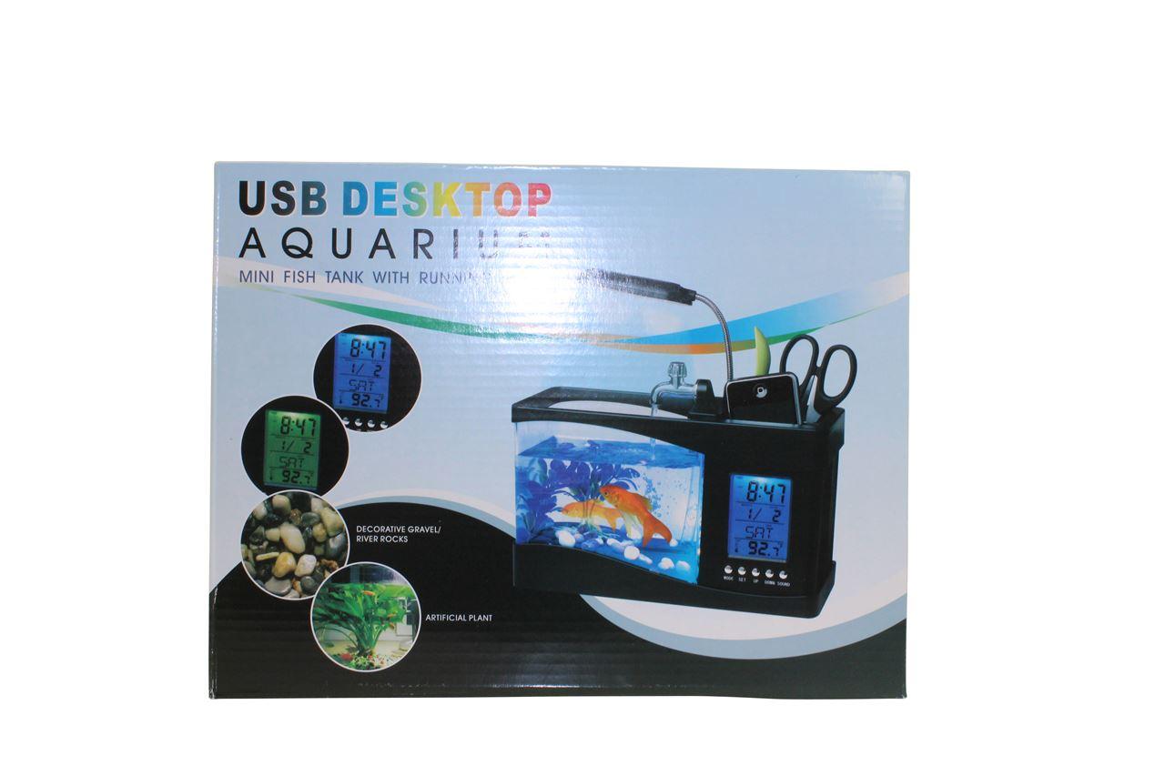 channel distribution gifts en gadgets usb aquarium bureau organizer. Black Bedroom Furniture Sets. Home Design Ideas