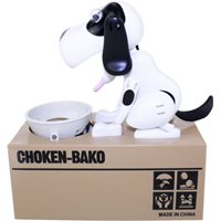 Spaarpot Doggy Bank - wit