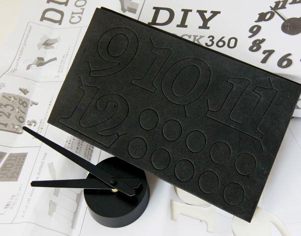 channel distribution gifts en gadgets diy uhr schwarz. Black Bedroom Furniture Sets. Home Design Ideas