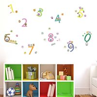Walplus Kids Decoratie Sticker - Cijfers met Uilen