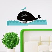 Walplus Krijtbord Decoratie Sticker - Walvis