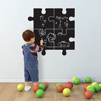 Walplus Krijtbord Decoratie Sticker - Puzzel