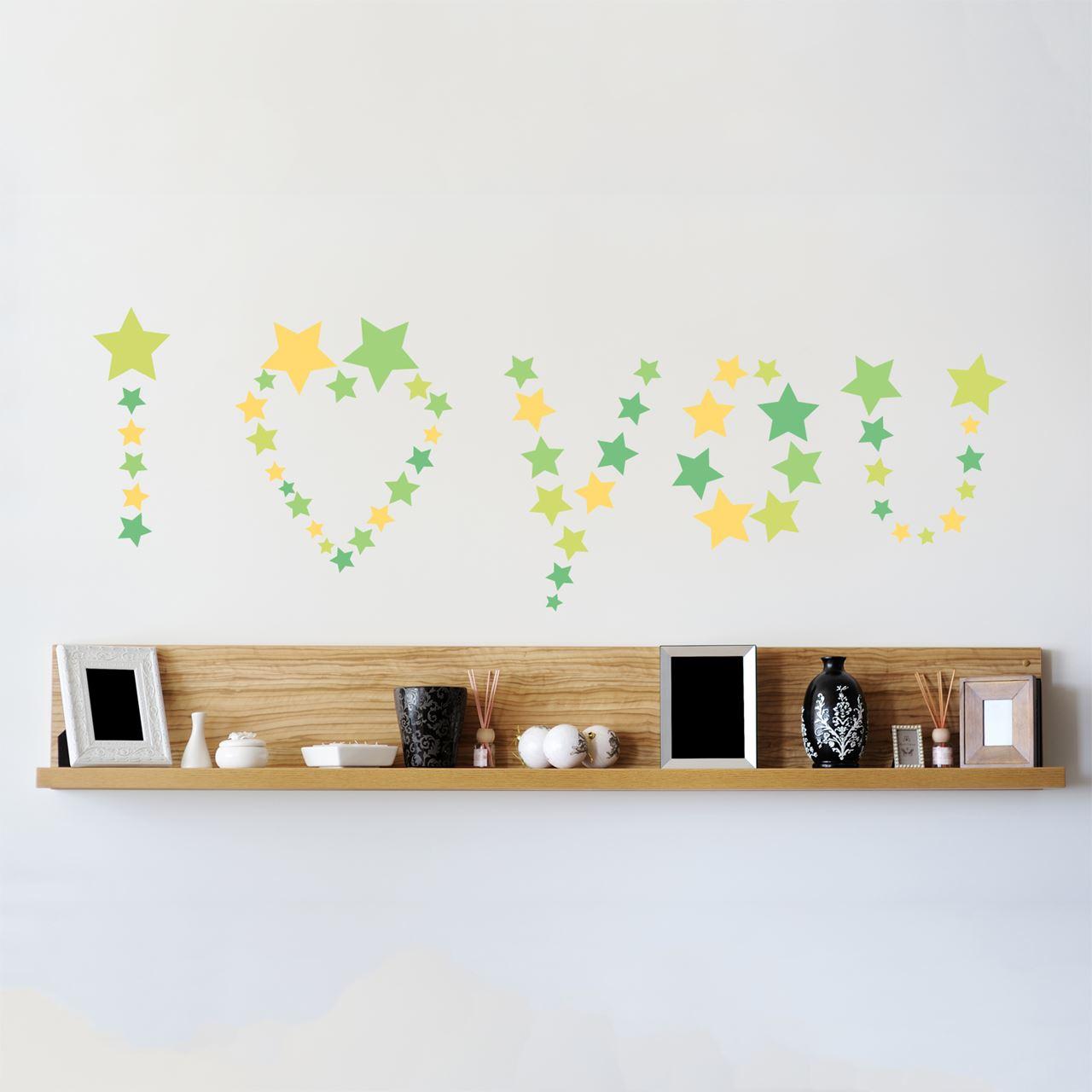 Channeldistribution Walplus Home Decoration Sticker Stars