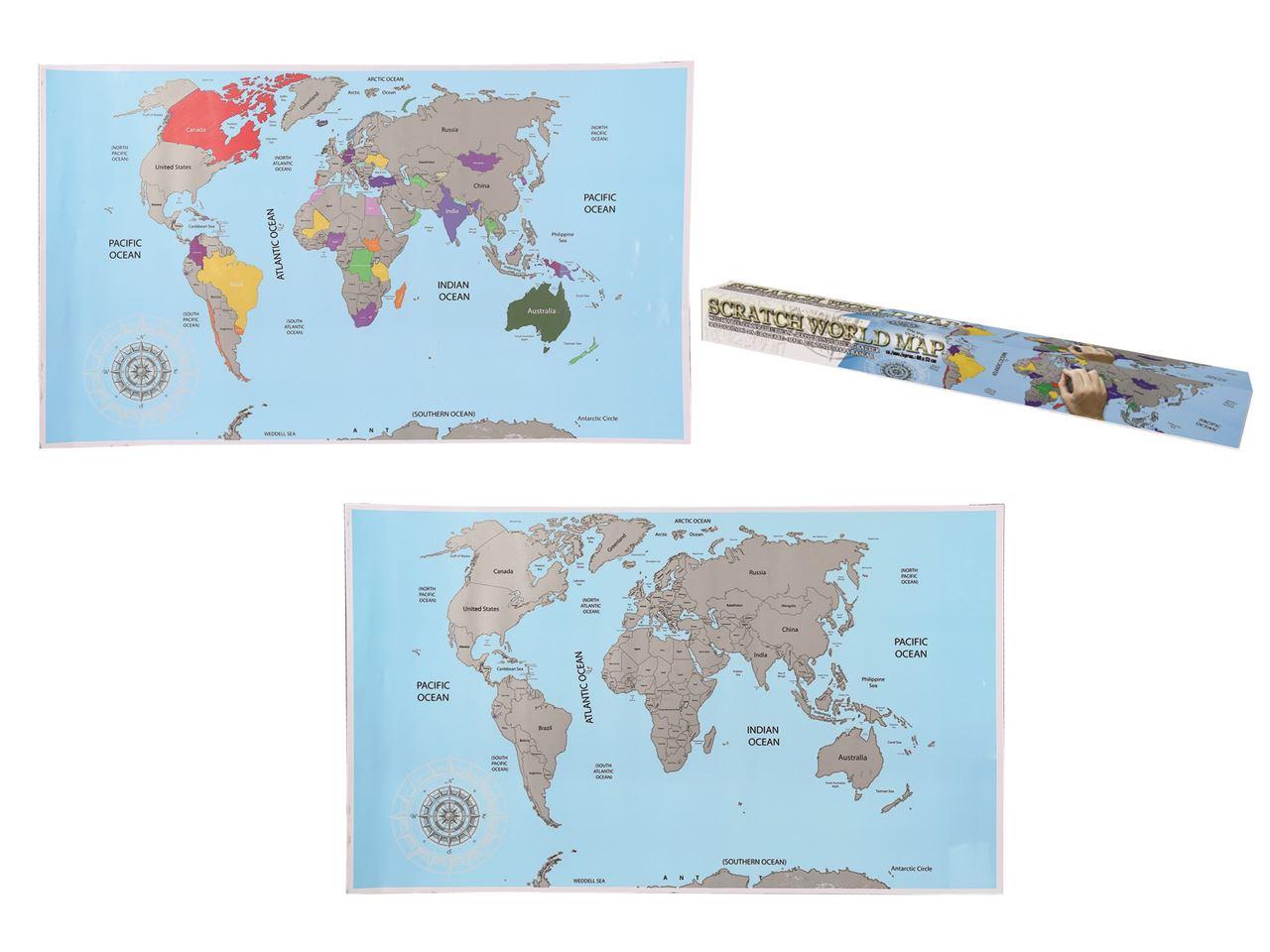 Channel distribution gifts en gadgets scratch world map scratch world map gumiabroncs Gallery