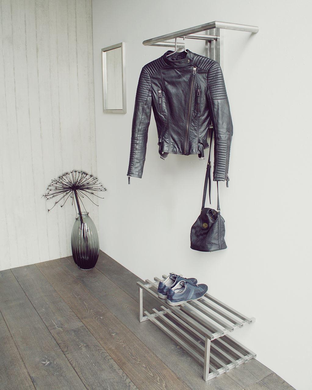 Malerisch Edelstahl Garderobe Referenz Von Spinder Design Senza 1 -