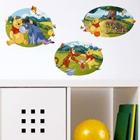 Walplus Kids Decoratie Sticker - Disney Winnie de Poeh & Vrienden