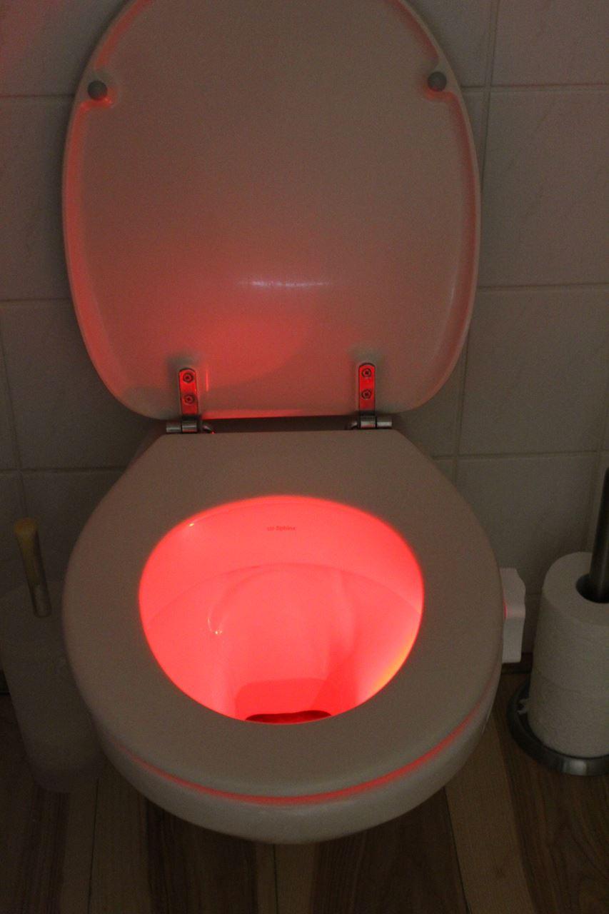Channel Distribution Gifts En Gadgets Led Toilette Licht 8 Farben