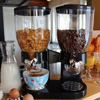 Cornflakes Dispenser Black