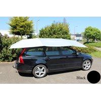 Automatische Auto-Regenschirm Sonnenschutz - Schwarz