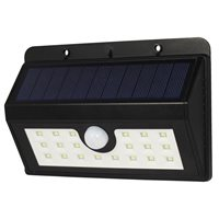 PowerPlus Boa - Solar 20 LED PIR Sensor Lamp