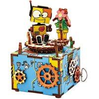 Robotime Machinarium AM305 - Houten modelbouw - Muziekdoos - DIY