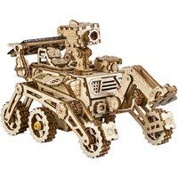 Robotime Curiosity Rover met zonnecel LS402 - Houten modelbouw - DIY