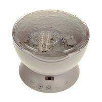 Ocean Projector Pot - met Afstandsbediening - Wit